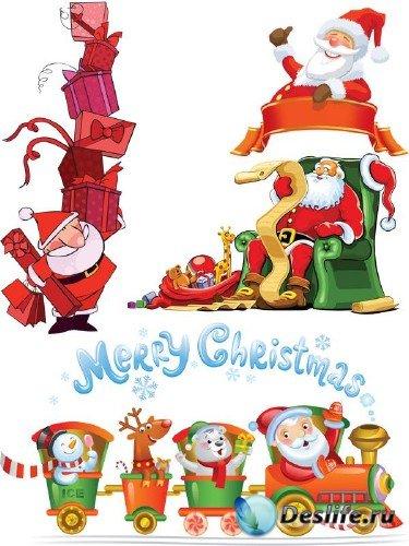 Подборка отрисовок Санта Клауса (часть 2)