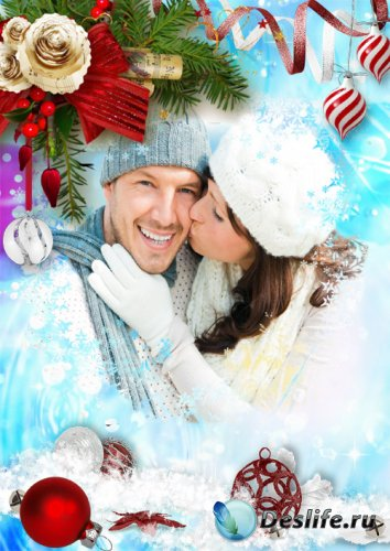 Новогодняя фоторамка - Счастливого Рождества