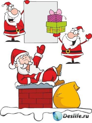 Векторные отрисовки Санта Клауса (часть третья)