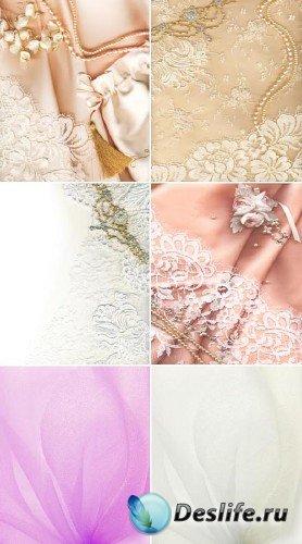 Розы и жемчуг - набор свадебных фонов