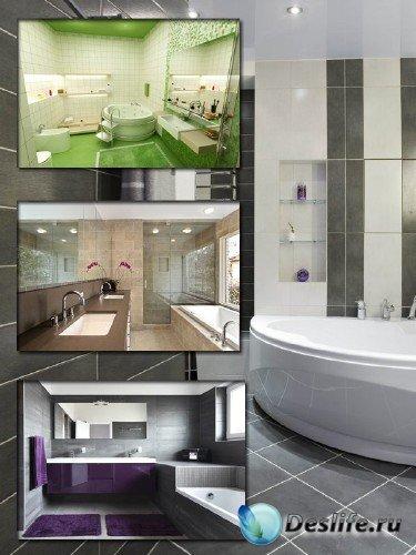 Подборка интерьеров: Ванная комната