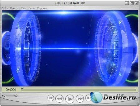 Футаж для оформления видео - Цифровой рулон