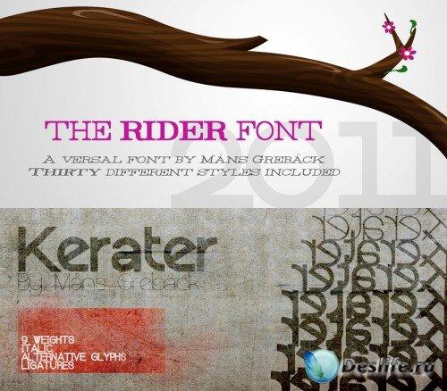 Fonts kerater, rider