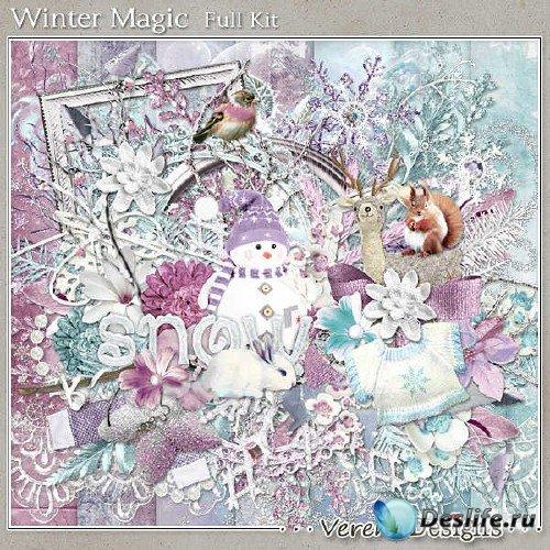 Скрап-комплект - Магия зимы