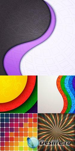 Коллекция векторных абстрактных фонов 36