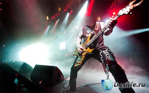 Костюм для фото - Гитарист на сцене