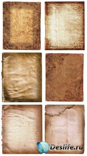 Старые бумаги с узорами