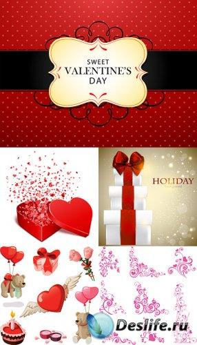 Векторный клипарт - День влюблённых 9