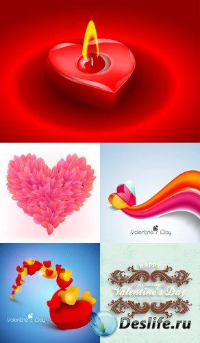 Векторный клипарт - День влюблённых 10