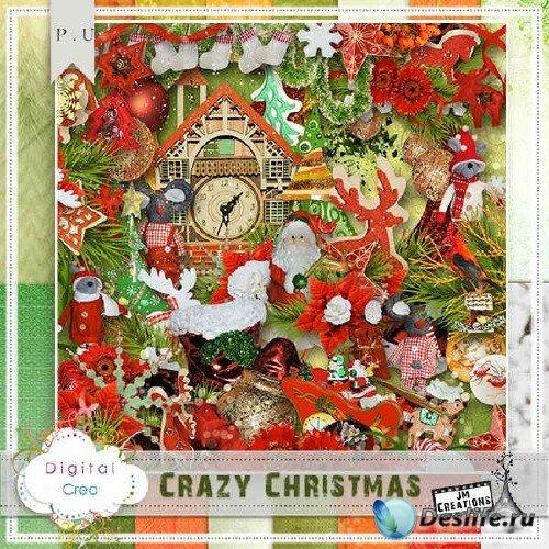 Скрап-комплект - Ненормальное Рождество