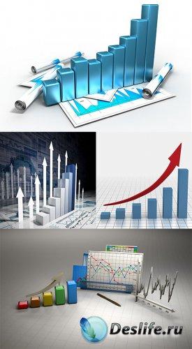 Клипарт - Изображения различных графиков