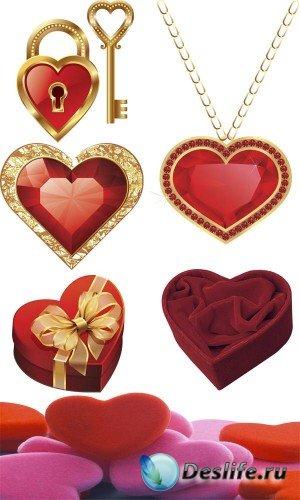 Сердце - большая подборка растрового клипарта (вторая часть)