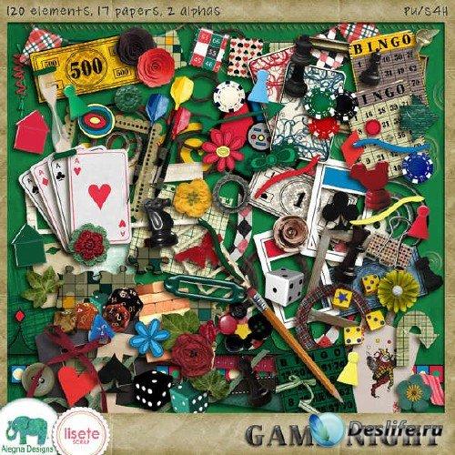 Азартный скрап-комплект - Ночные игры