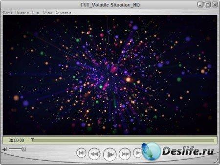 Футаж для оформления видео - Феерверк звезд