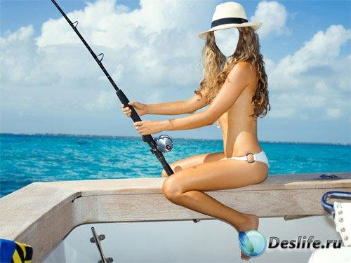 Костюм для Photoshop - Как-то раз на рыбалке