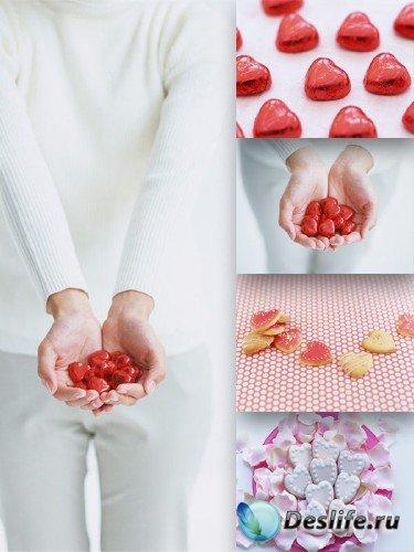 Сладкие сердечки (подборка клипарта)