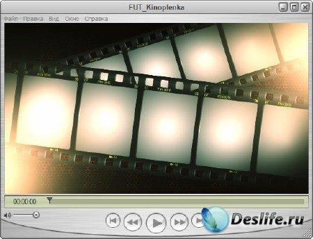 Футаж для оформления видео - Кинопленка