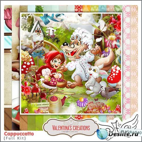 Сказочный детский скрап-комплект - Красная шапочка