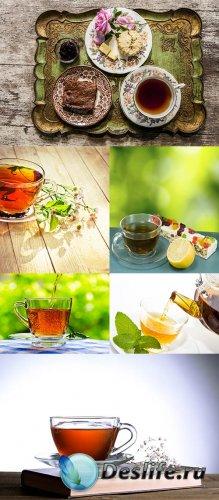 Растровый клипарт - Чай