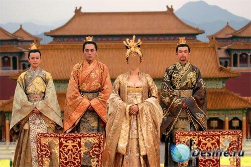 PSD костюм для девушек - Императрица Китая