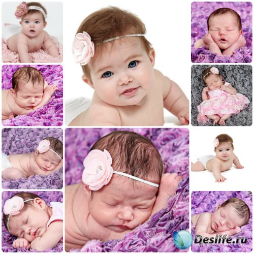 Маленькие спящие дети / Small children, sleeping children - Stock photo