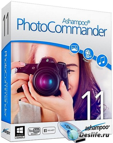 Ashampoo Photo Commander v11.1.3 Rus Portable