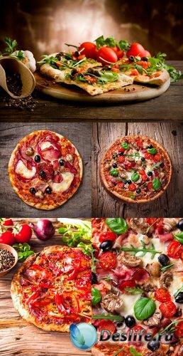 Растровый клипарт - Пицца