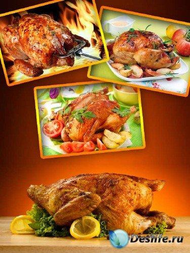 Жареное мясо птицы (подборка изображений)