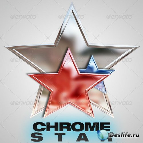 PSD - Chrome Star