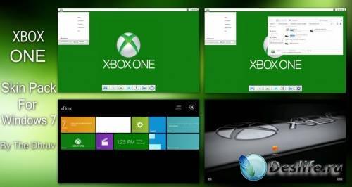 Xbox ONE - Тема для Windows 7