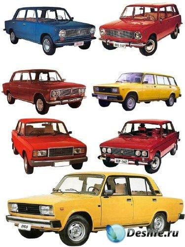 Классические модели автомобиля марки ВАЗ (2101, 2102, 2103, 2104, 2105, 210 ...