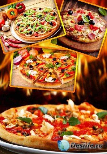 Фаст-фуд: Пицца (подборка клипарта)