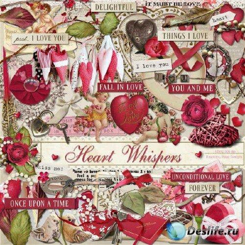 Альковный скрап-комплект - Сердце шепчет