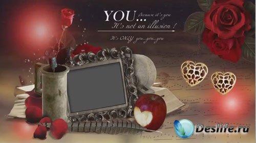 Романтический проект для ProShow Producer - Страстная любовь