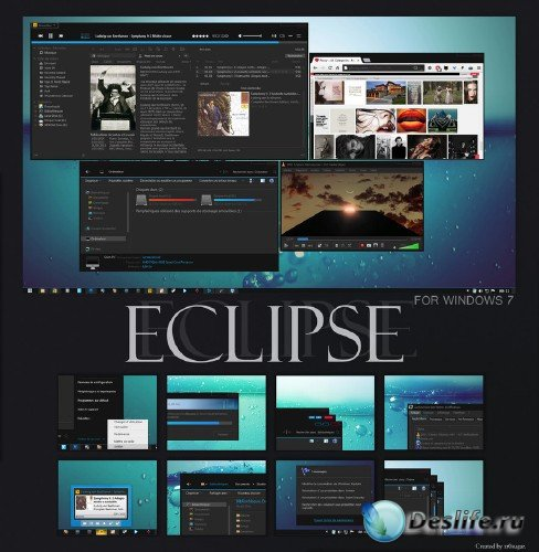 Eclipse - Тема для Windows 7