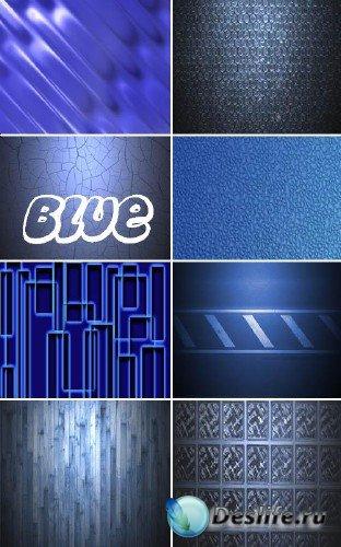 Коллекция синих фонов