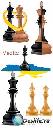 Шахматные фигуры в Векторе