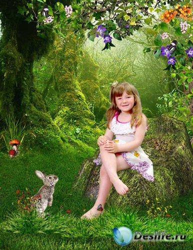 Костюм детский - В летнем лесу