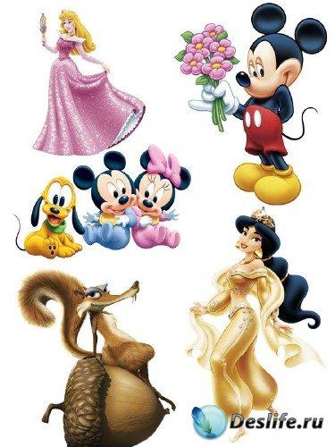 Персонажи из мультфильмов (подборка изображений)