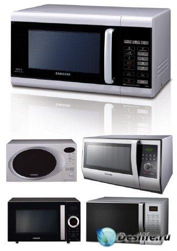 Бытовая техника: Микроволновая печь (подборка изображений)