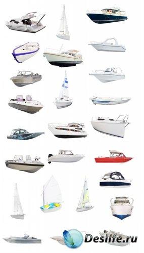 Яхты, лодки и катера - клипарт