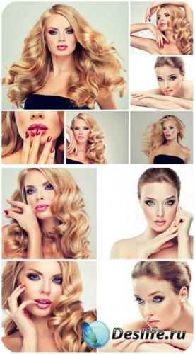 Девушка, красивая девушка с длинными волосами / Girl, beautiful girl with l ...