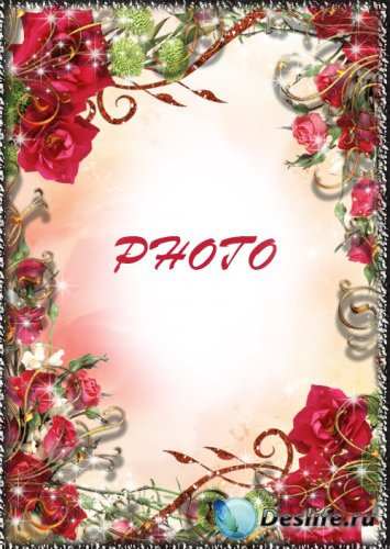 Рамка для фотографии - Розовый вечер