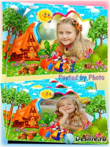 Детская рамка для фото - Репка