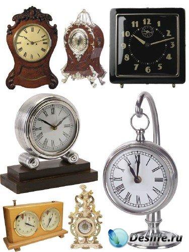 Часы настольные (подборка клипарта)