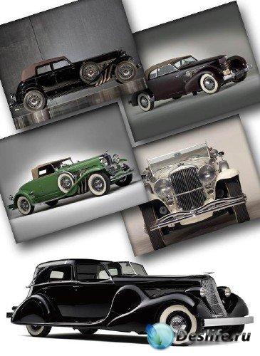 Зарубежные ретро автомобили (подборка изображений) часть вторая
