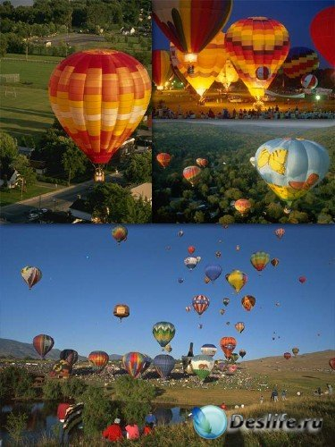 Воздушный шар (подборка изображений)