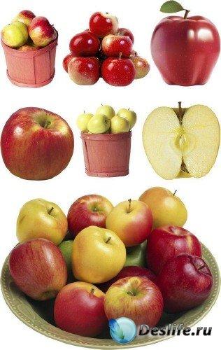 Мега-подборка изображений яблок (клипарт)
