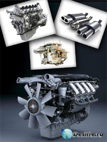 Автомобильные запчасти (двигатель, карбюратор, глушитель, амортизаторы и т. ...