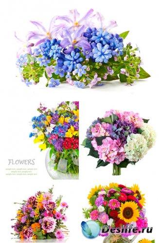 Клипарт - красивые цветорные букеты